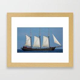 Ship 2 Framed Art Print