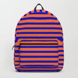 Vintage Beach Stripes Backpack