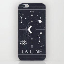 The Moon or La Lune Tarot iPhone Skin
