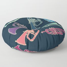 Wind instruments Floor Pillow