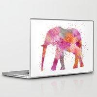 artsy Laptop & iPad Skins featuring Artsy Elephant by LebensART