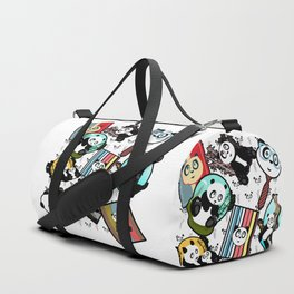 Panda Mix Duffle Bag