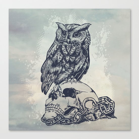 Key of wisdom Canvas Print
