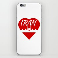islam iPhone & iPod Skins featuring Iran by mailboxdisco