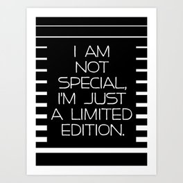 Special Edition Art Print