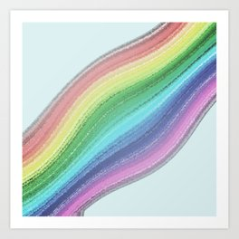 Rainbow Design  Art Print