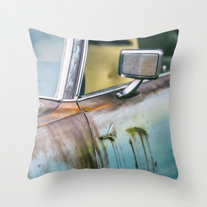 Old Thunderbird Throw Pillow