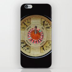 Custom Car Instrument Design with Lucky Roulette Wheel iPhone Skin
