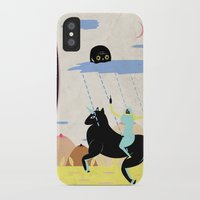 girl power iPhone & iPod Cases featuring GIRL POWER by Alba Blázquez