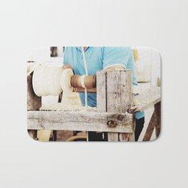 The artisan and the lathe Bath Mat