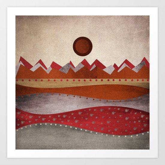 Textures/Abstract 135 Art Print