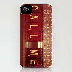 Call Me, Call Me Any Anytime iPhone (4, 4s) Slim Case