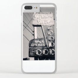 The Goof Spectra B&W Clear iPhone Case