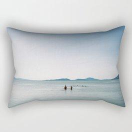 Balaton lake Rectangular Pillow