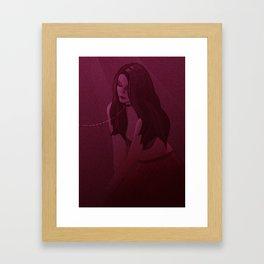 My secret Framed Art Print