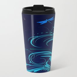 Good Night Dragonfly Travel Mug