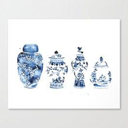 Ginger Jar Collection print Canvas Print
