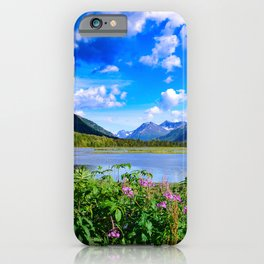 God's_Country - IV, Alaska iPhone Case