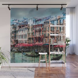 Venice Post Card Wall Mural