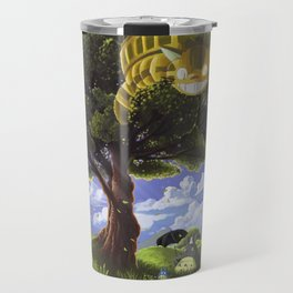 Totoro and Catbus Travel Mug