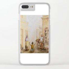Punjabi village Clear iPhone Case