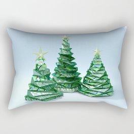 Christmas Trees Rectangular Pillow