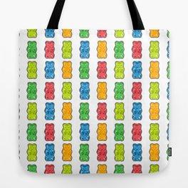 Rainbow Gummy Bears Tote Bag