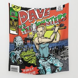 Dave Vs The Monsters Wall Tapestry