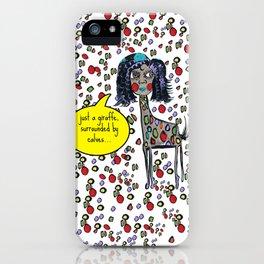 Giselle the Giraffe iPhone Case