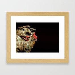 The Faces  Framed Art Print