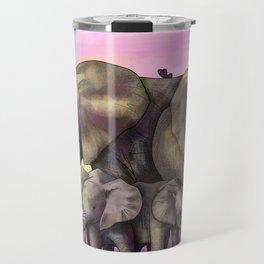 Elephant Family Travel Mug