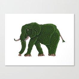 Elephant Topiary 2019 Canvas Print