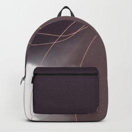 Purple Watercolor Blobs Backpack