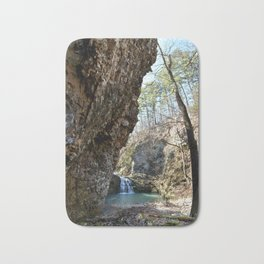 Alone in Secret Hollow with the Caves, Cascades, and Critters, No. 16 of 21 Bath Mat