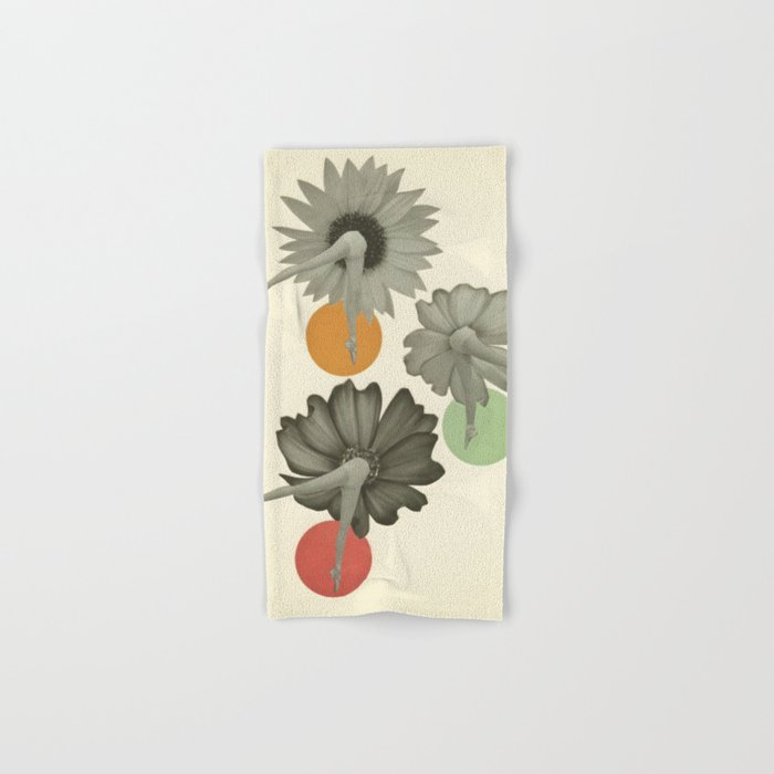 Flower Girls Hand & Bath Towel