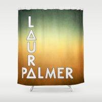 laura palmer Shower Curtains featuring Bastille - Laura Palmer #2 by Thafrayer