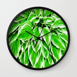 1 Hosta Wall Clock