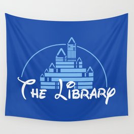 The Library Wall Tapestry