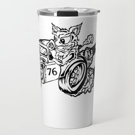 Burn Out Pig Travel Mug