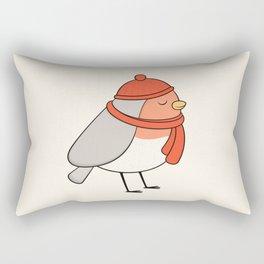 Bird - Robin Rectangular Pillow