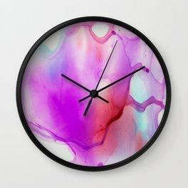Liquids 03 Wall Clock