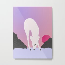 Fawn Sun Metal Print