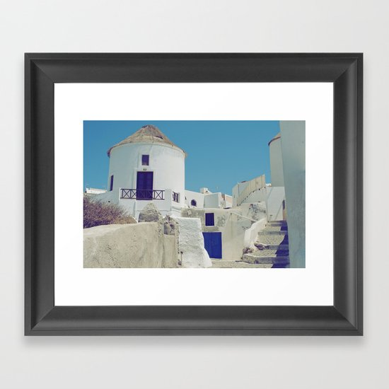 Windmill House III Framed Art Print