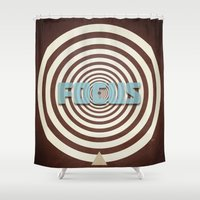 focus Shower Curtains featuring Focus by Phil Perkins