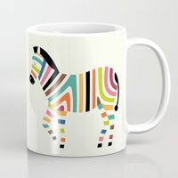 code Mugs featuring Magic code by Andy Westface