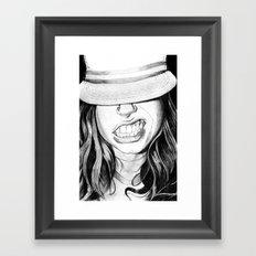 Cabrallin' Framed Art Print