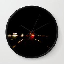 Lost Highway #1 Wall Clock