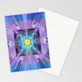 Power Meditation Mandala Feng Shui Wealth Attractor Stationery Cards