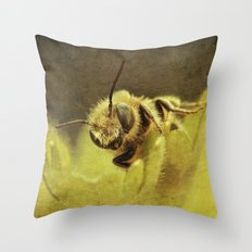 Staring. Throw Pillow