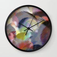 final fantasy Wall Clocks featuring Final Fantasy by Miss Cooper